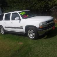 Cash Sale Only             2001 Chevy Suburban